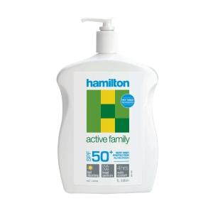 HAMILTON ACTIVE FAMILY SPF50+ SUNSCREEN LOTION 1L - EACH