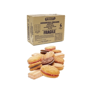 ARNOTT S BISCUITS ASSORTED CREAM BULK PACK 3KG - BOX