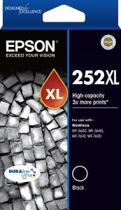 EPSON 252XL HIGH YIELD INK CARTRIDGE BLACK - EACH