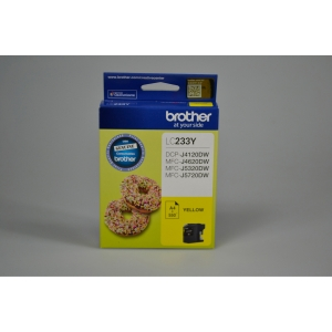 BROTHER LC-233Y INK CARTRIDGE YELLOW - EACH