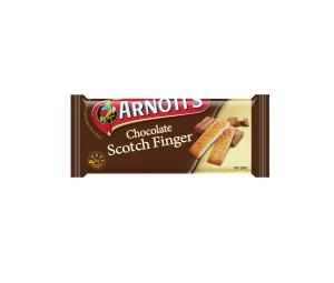 ARNOTT S BISCUITS SCOTCH CHOCOLATE FINGER & CHOC CHIP BISCUIT 250G - EACH