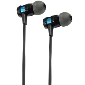 KENSINGTON HI-FI IN EAR HEADPHONES BLACK - EACH