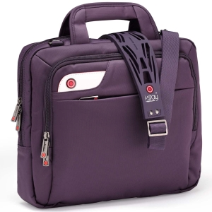 I-STAY ULTRABOOK TABLET BAG 13.3INCH WITH I-STAY STRAP PURPLE - EACH
