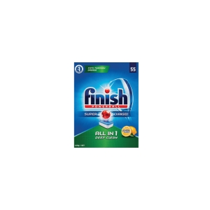 FINISH ALL IN ONE DISHWASHING TABLETS LEMON - BOX OF 55