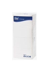TORK LUNCH NAPKINS 1-PLY 320X315MM WHITE 250 SHEETS - PACK