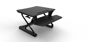 RAPIDLINE RR1 SMALL SIT STAND RISER BLACK - EACH