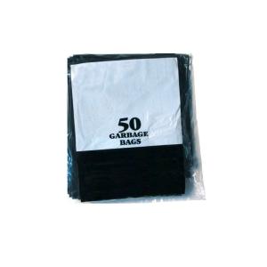 PRO-PAC BIN LINERS 240L BLACK - PACK OF 50