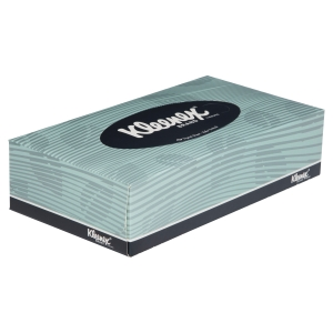 4720 Kleenex® Facial Tissues, 2 ply, White, 100 tissues/pack