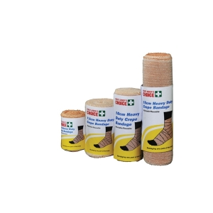 FIRST AIDERS CHOICE HEAVY CREPE BANDAGE 10CM X 4.5M - EACH