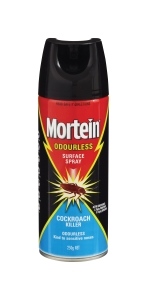 MORTEIN INSECT SPRAY ODOURLESS 250G  - EACH