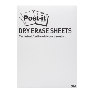 3M DRY ERASE SHEETS 279 X 390 MM - PACK OF 15