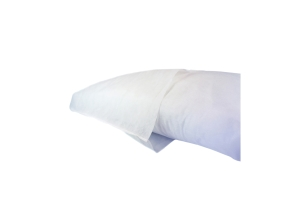 FIRST AIDERS CHOICE DISPOSABLE PILLOW CASES WHITE - PACK OF 10
