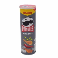 PRINGLES HOT & SPICY POTATO CHIP 110G