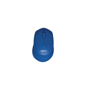 LOGITECH M331 SILENT PLUS BLUE WIRELESS MOUSE