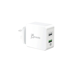 J5 CREATE JUP20 20W QC 3.0 USB CHARGER