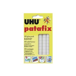 UHU Patafix White Adhesive Pad - Box of 80