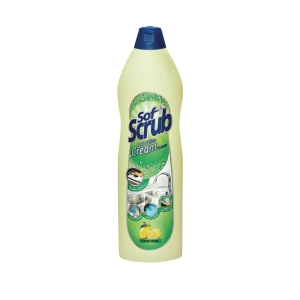 SOFT SCRUB LEMON CREAM CLEANSER 500ML
