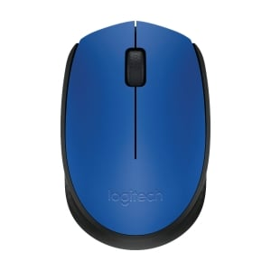 LOGITECH M171 W/LESS MOUSE BLUE