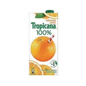 Tropicana 100% Orange Juice 1l - Pack of 12