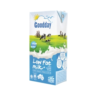 Goodday Low Fat UHT Milk 1l - Pack of 12