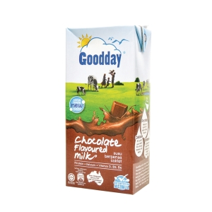 Goodday Chocolate UHT Milk 1l - Pack of 12