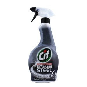 CIF Ultra Stainless Steel Cleaner 450ml