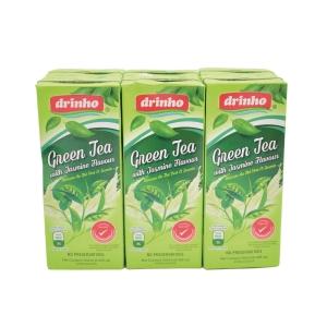 Drinho Green Tea With Jasmine 250ml Pack of 6