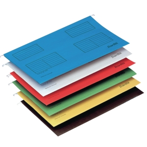 BANTEX BLUE F4 SUSPENSIO FILE - PACK OF 25