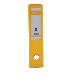 Bantex PVC Lever Arch File A4 3 inch Yellow