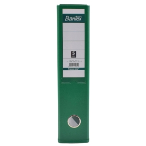 Bantex PVC Lever Arch File A4 3 Inches Grass Green