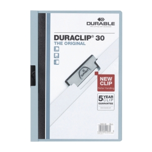Durable 2200 Duraclip Folder A4 Blue