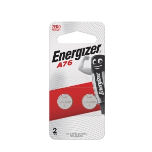 Energizer LR44/A76 Alkaline Battery - Pack of 2