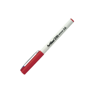 ARTLINE 210 FINELINER RED PEN 0.6MM