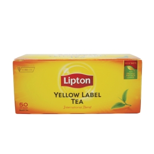 LIPTON YELLOW LABEL TEA BAGS - PACK OF 50