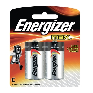 Energizer MAx C LR14 Alkaline Battery - Pack of 2