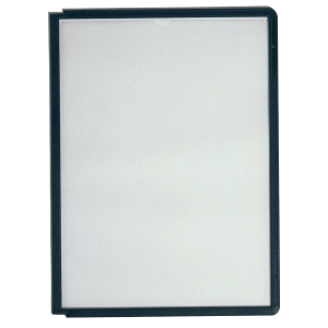 DURABLE SHERPA BLACK FRAMED PANELS FOR DISPLAY UNIT - PACK OF 10