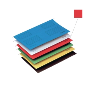 BANTEX RED A4 SUSPENSION FILE - PACK OF 25