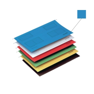 Bantex A4 Suspension File Blue - Pack of 25