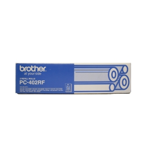 BROTHER PC402RF ORIGINAL BLACK FAX THERMAL RIBBON