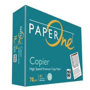 Paperone Copier A3 Paper 70gsm White - Box of 5 Reams (5 X 500 Sheets)