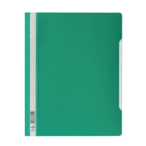 DURABLE CLEAR VIEW GREEN A4 FOLDER