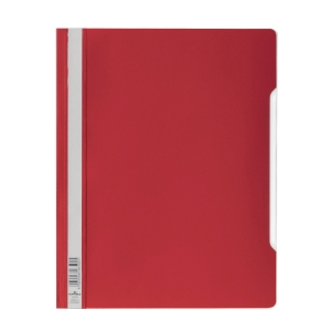 Durable Clear View A4 Folder Red