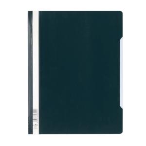 Durable Clear View A4 Folder Black