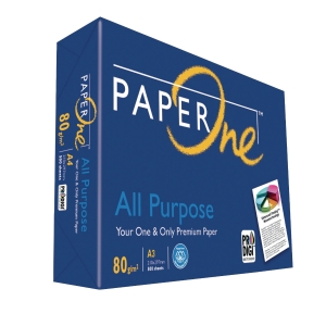 PaperOne A3 All Purpose Paper 80gsm - Ream of 500 Sheets