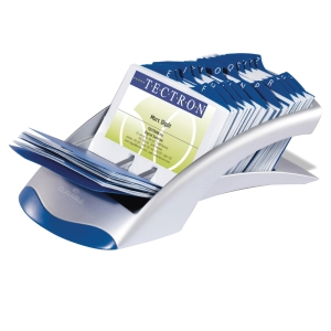 Durable Visifix Desk 12 - Part A-Z Indexed Card File - 200 Card Capacity