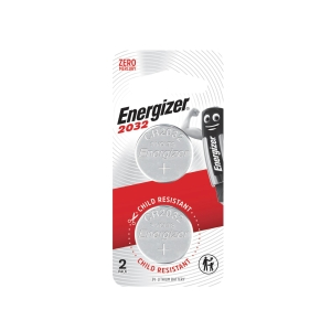 ENERGIZER ECR2032 LITHIUM BATTERY 3V - PACK OF 2