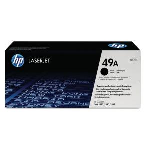 HP Q5949A LaserJet Toner Cartridge (49A)- Black
