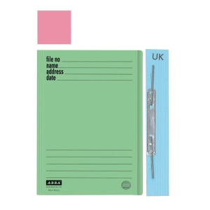 ABBA 102UK Manilla Card Folder Pink