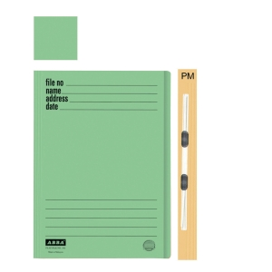 ABBA 102PM MANILA GREEN CARD FOLDER