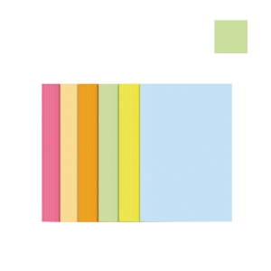 ABBA GREEN PAPER F4 INNER FILE